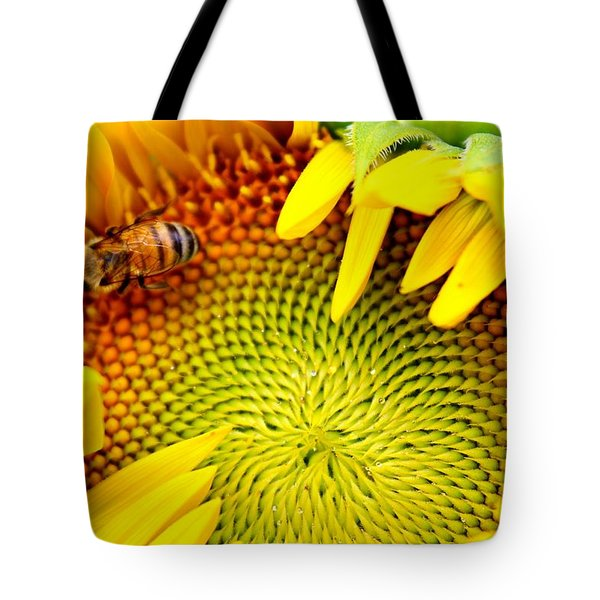 Tote Bag featuring the photograph Peek-a-boo by Candice Trimble