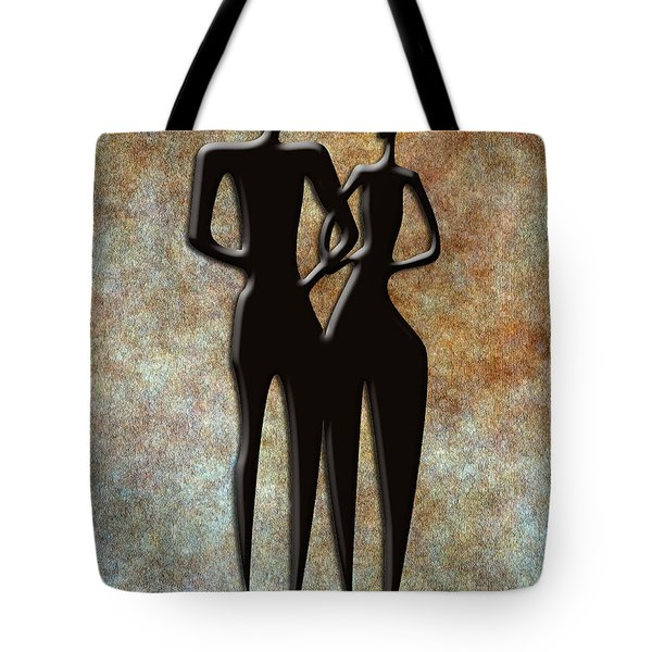 2 People Tote Bag