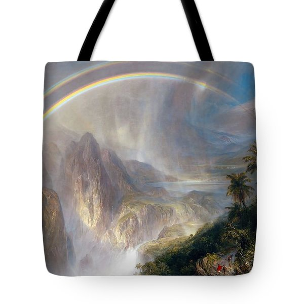 Rainy Season In The Tropics Tote Bag