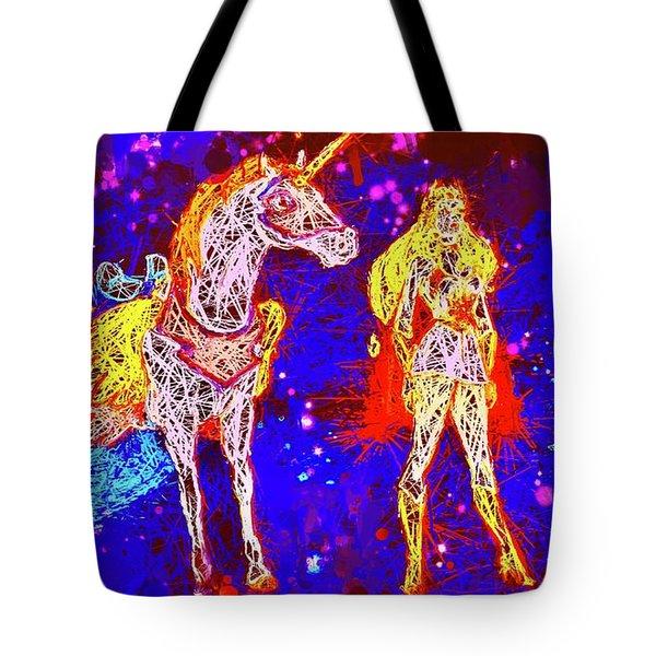 She - Ra And Swift Wind Tote Bag