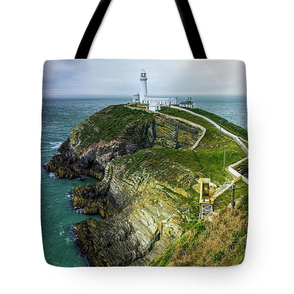 South Stack Lighthouse Tote Bag