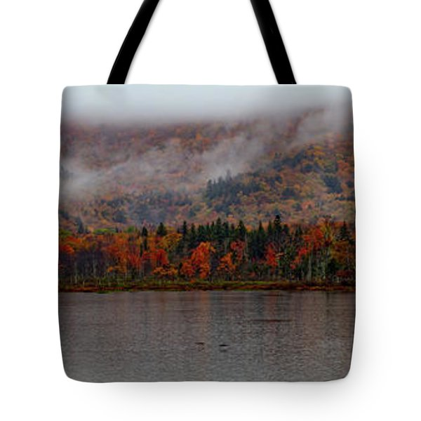 Tote Bag featuring the photograph The Basin In Maine by Jeff Folger