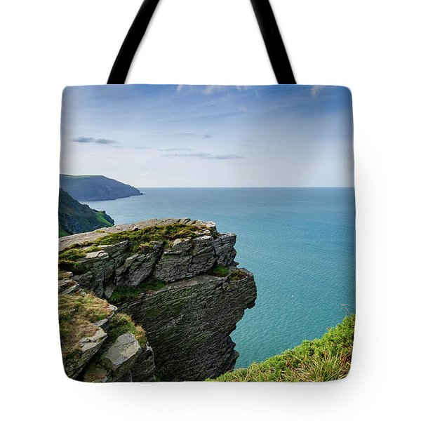 Valley Of The Rocks Views Tote Bag