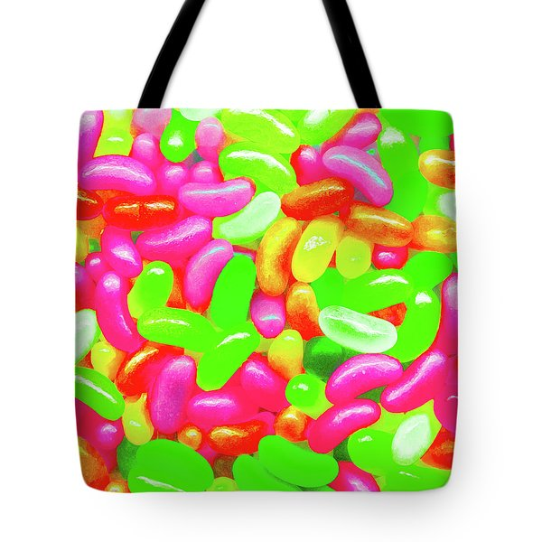 Vibrant Jelly Beans Tote Bag
