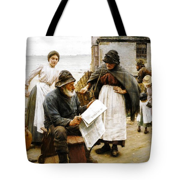 When The Boats Are Away Tote Bag