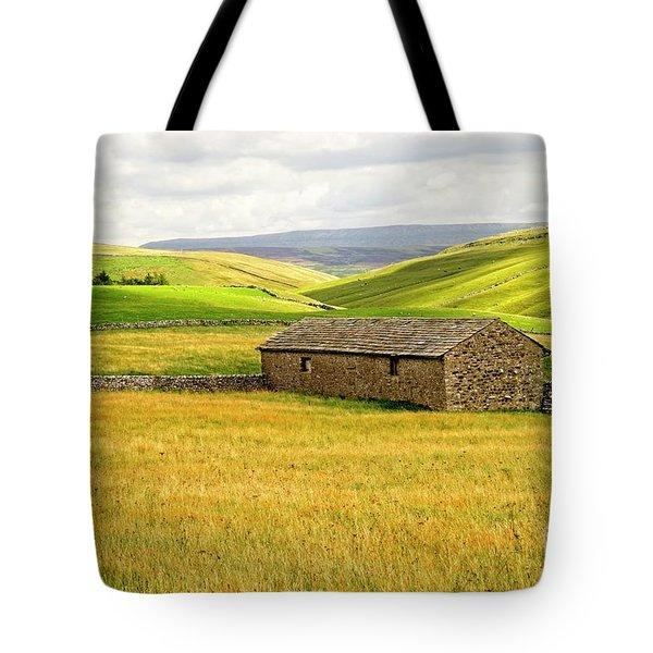 Yorkshire Dales Landscape Tote Bag