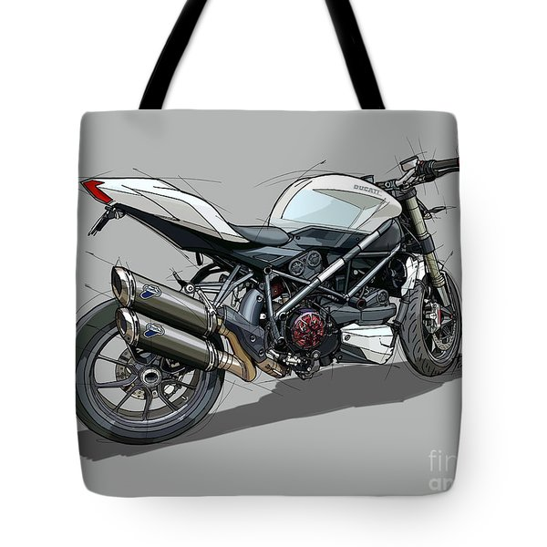 2015 Ducati Streetfighter Tote Bag