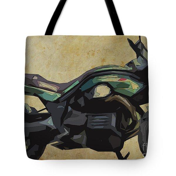 2015 Moto Guzzi Griso, Original Abstract Art Tote Bag