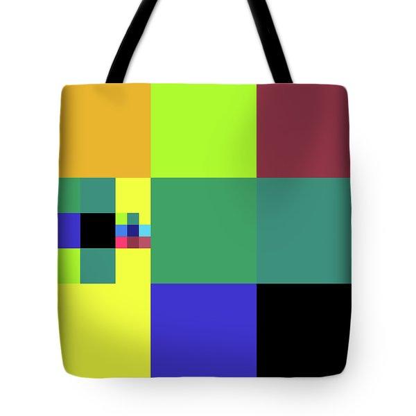 2018-10-17-15-50 Grid Tote Bag