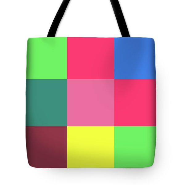 2018-10-19-11-39 Grid Tote Bag