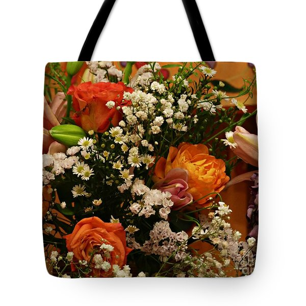 2019 Holy Week Flowers 1   Tote Bag