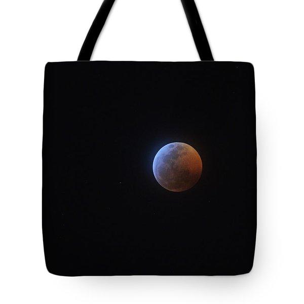 2019 Lunar Eclipse Tote Bag
