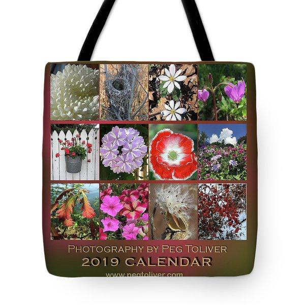2019 Nature Calendar Tote Bag