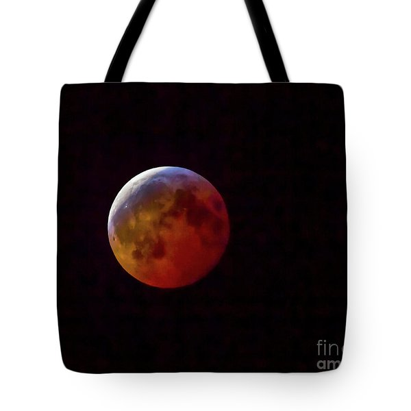 2019 Super Blood Wolf Moon Tote Bag