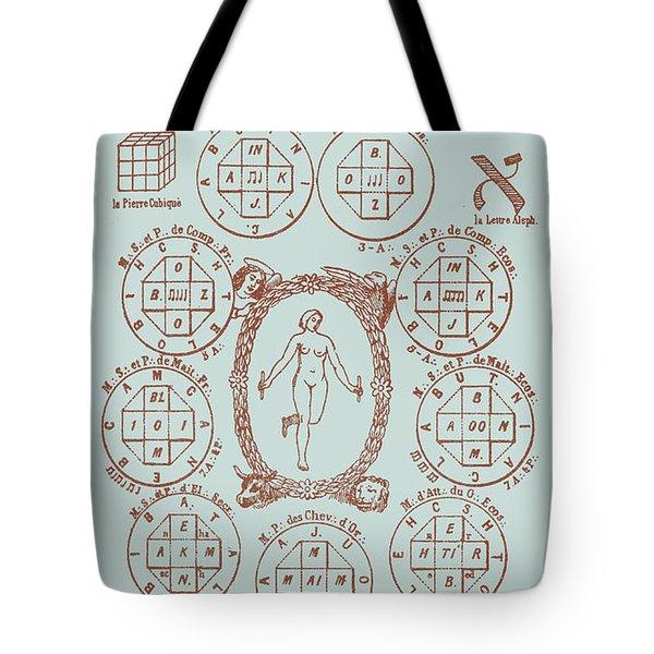 21st Key Of The Tarot Tote Bag
