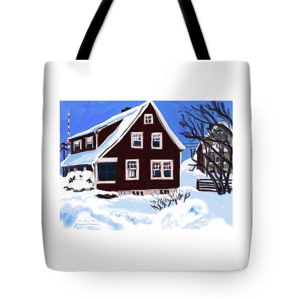 22 Hillside Avenue Tote Bag
