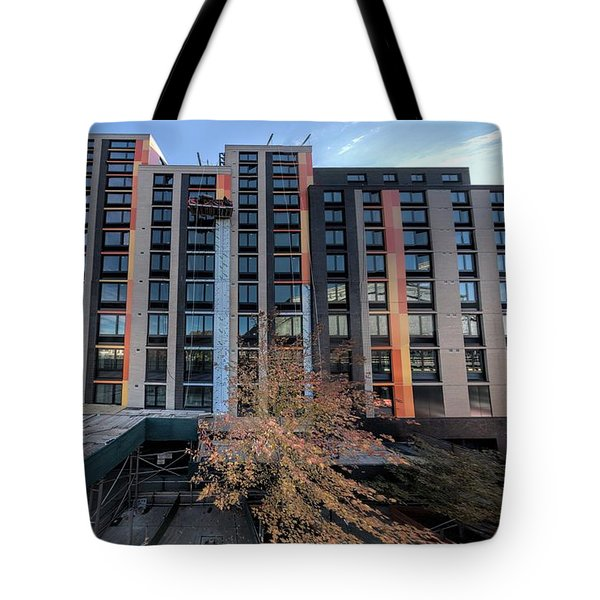 Tote Bag featuring the photograph 2700 Jerome Nov2018d by Steve Sahm