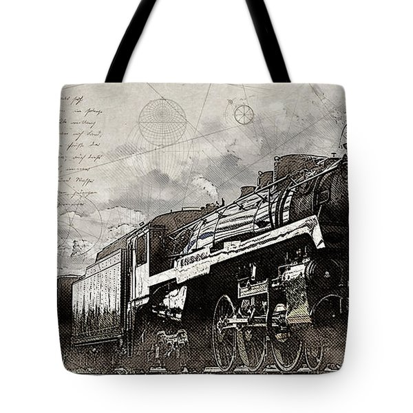 2816 At Banff Siding Tote Bag
