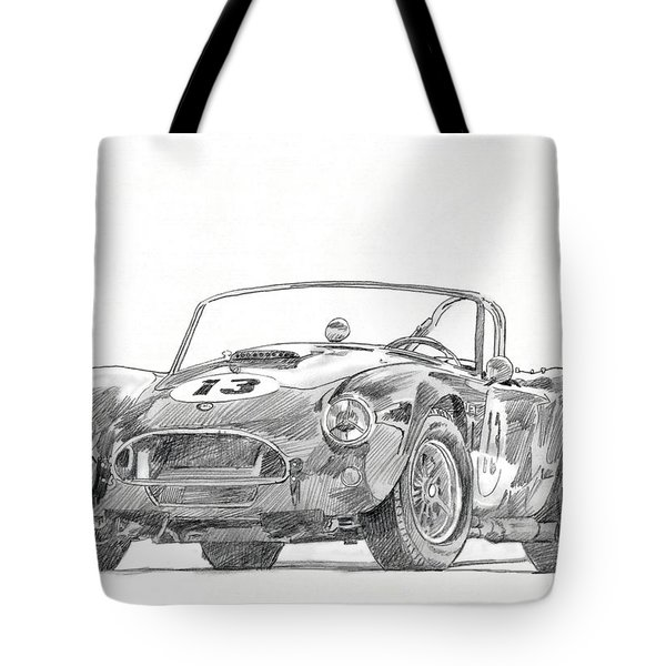 289 Cobra Competition Tote Bag