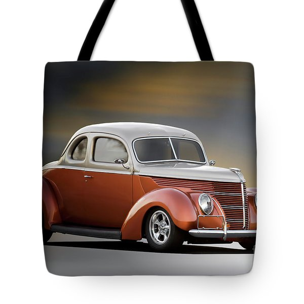 1938 Ford Deluxe Coupe Tote Bag
