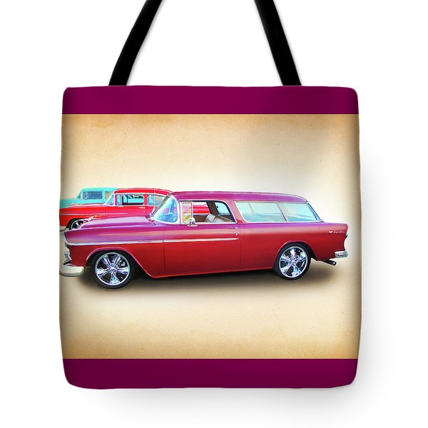 3 - 1955 Chevy's Tote Bag