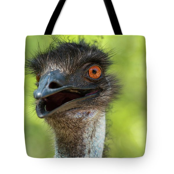 Tote Bag featuring the photograph Australian Emu Outdoors by Rob D Imagery