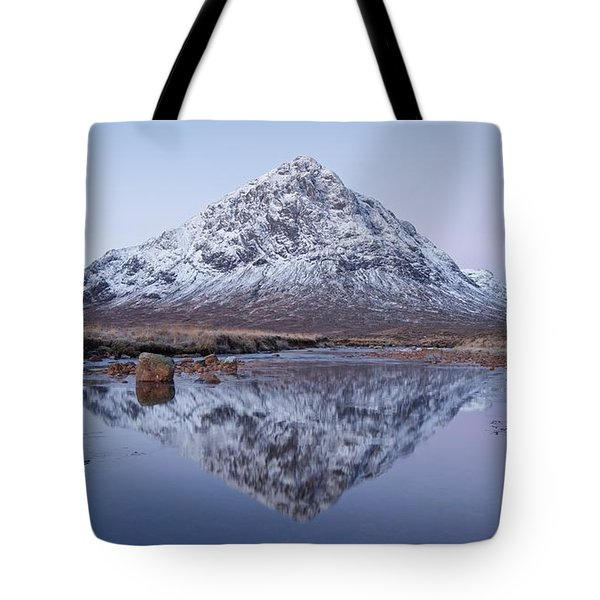 Tote Bag featuring the photograph Dawn In Glencoe by Stephen Taylor