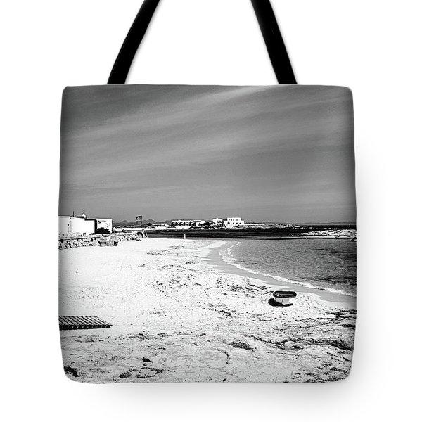 Es Pujols Beach, Formentera Tote Bag