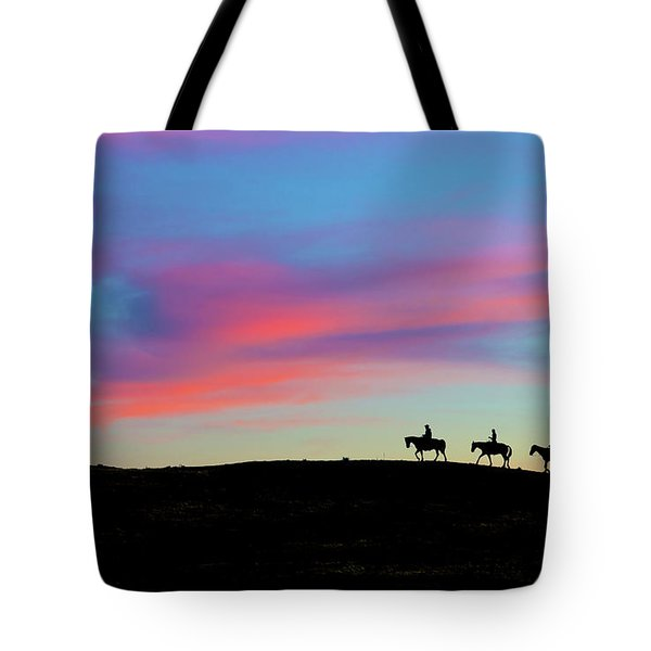 3 Horsemen Tote Bag