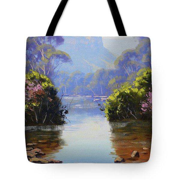 Megalong Creek Tote Bag
