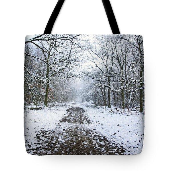 30/01/19  Rivington. Lower Barn. Arboretum Path. Tote Bag