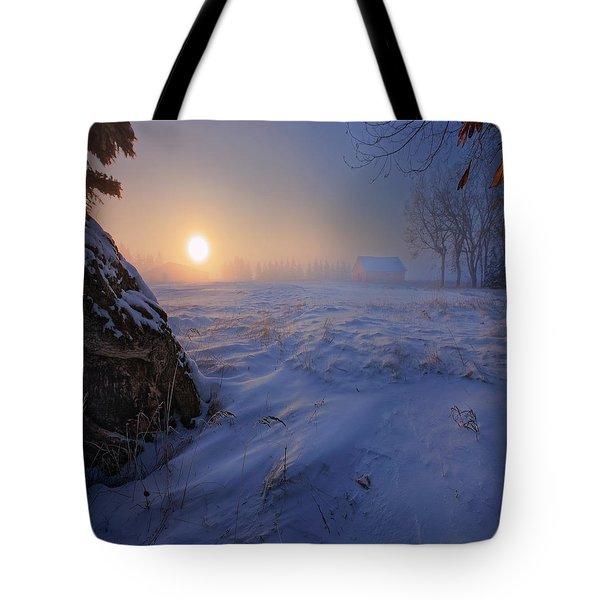 -30 Celsius Tote Bag