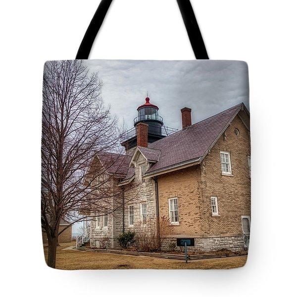 30 Mile Lighthouse  Tote Bag