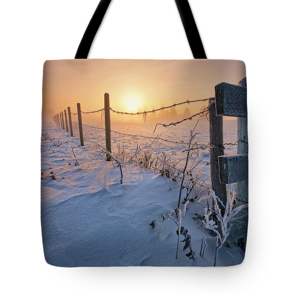 -30 Sunrise Tote Bag