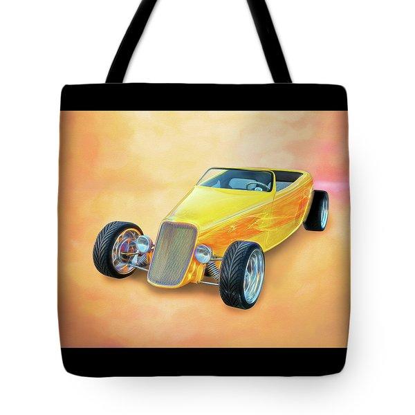 33 Speedstar Tote Bag