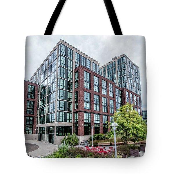 Tote Bag featuring the photograph 365 Bond Aug2017 by Steve Sahm