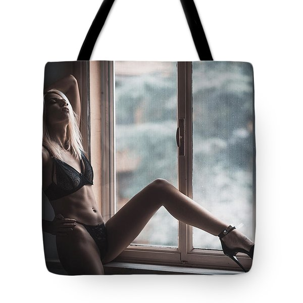 Tote Bag featuring the photograph 3689 by Traven Milovich
