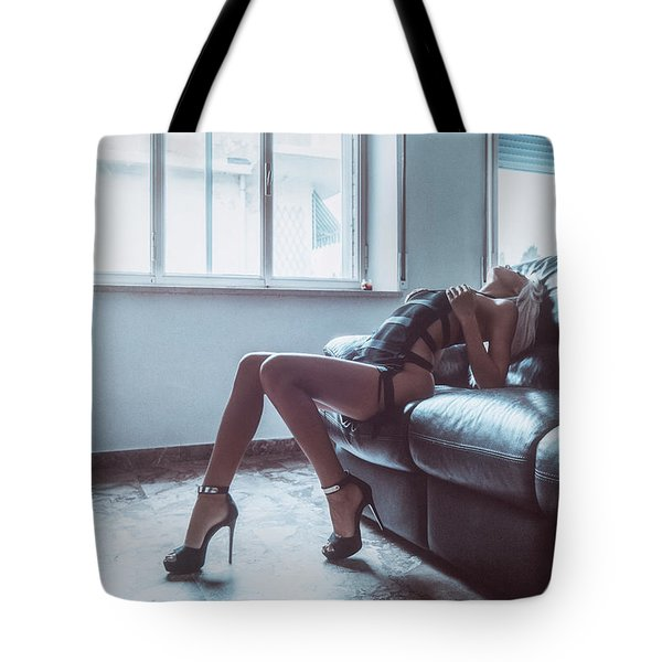 Tote Bag featuring the photograph 3904 by Traven Milovich
