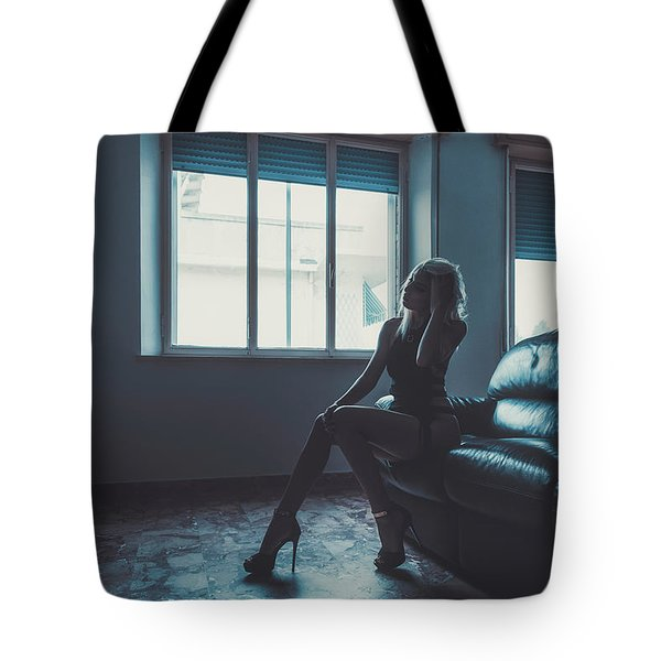 Tote Bag featuring the photograph 3913 by Traven Milovich