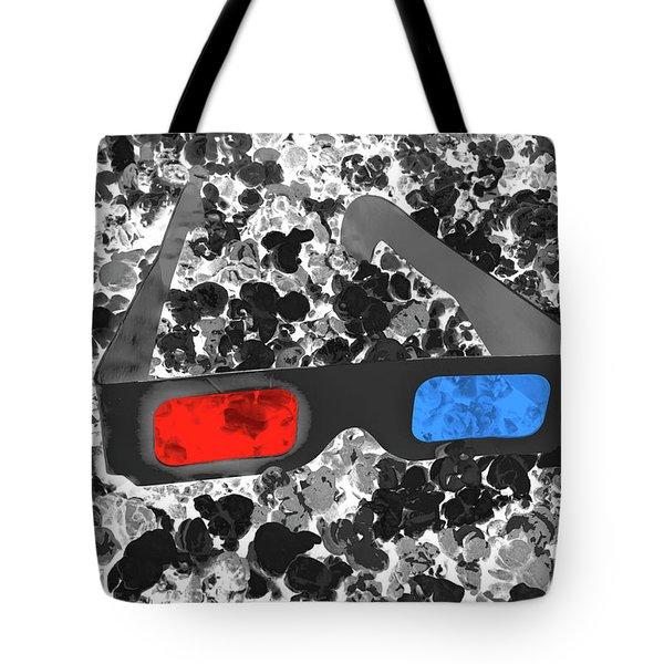 3d Pops Tote Bag