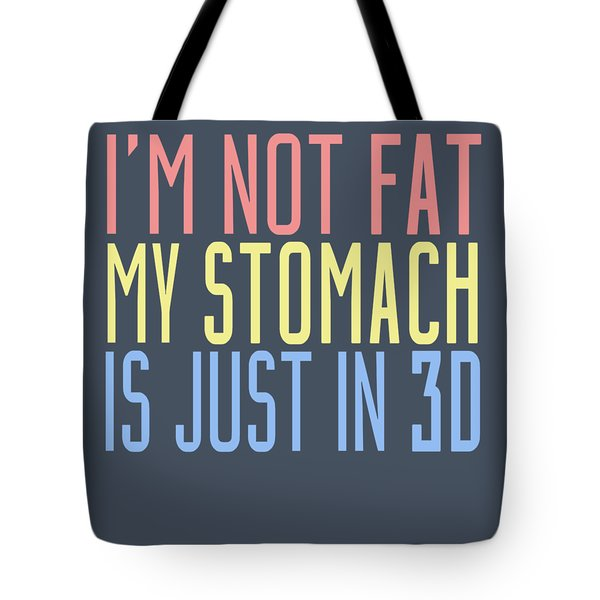 My Stomach Tote Bag