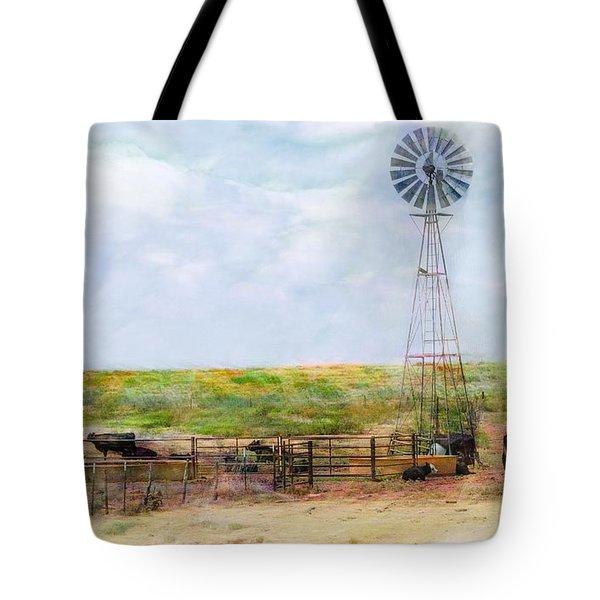 Classic Cattle  Tote Bag