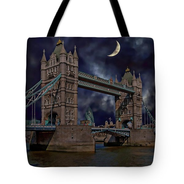 London Tower Bridge Tote Bag