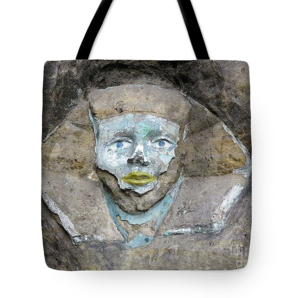 Rock Relief - The Face Of The Sphinx Tote Bag
