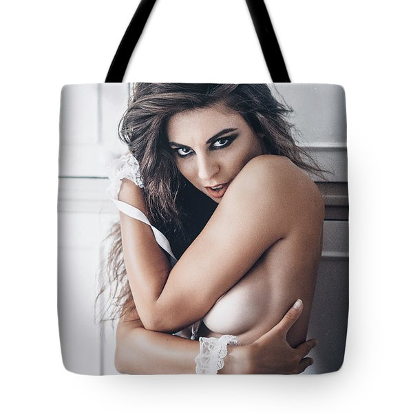 Tote Bag featuring the photograph 4884 by Traven Milovich