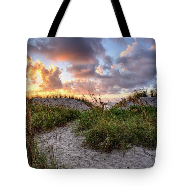 48th Ave. Sunrise North Myrtle Beach Tote Bag