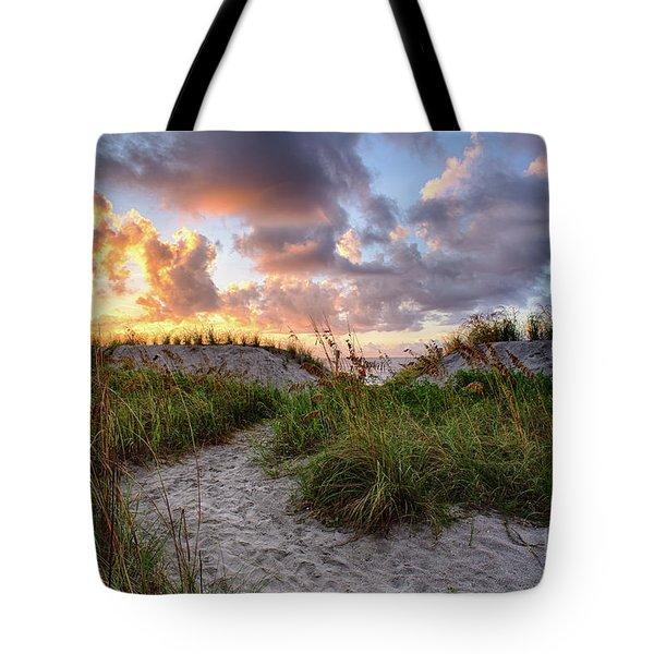 48th Ave. Sunrise North Myrtle Beach Tote Bag