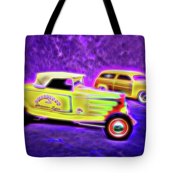 32 Roadster And 49 Woody Tote Bag
