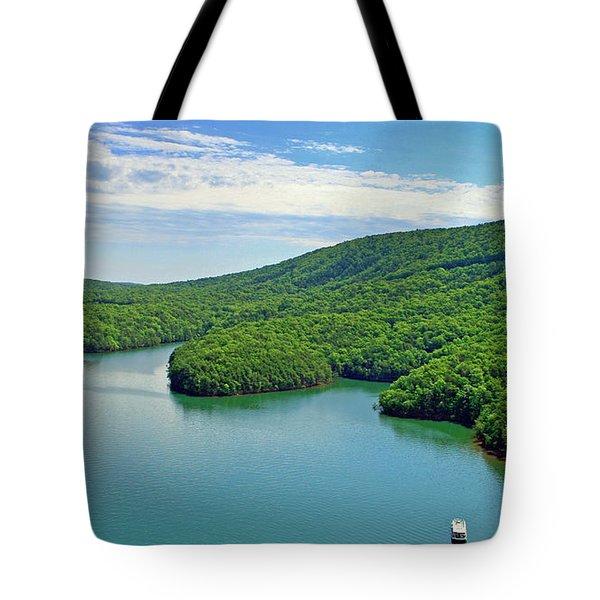 2017 Poker Run, Smith Mountain Lake, Virginia Tote Bag