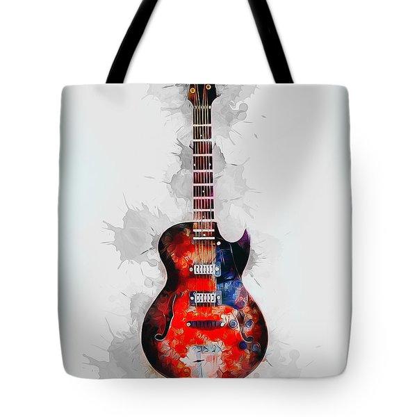 Electric Guitar Tote Bag